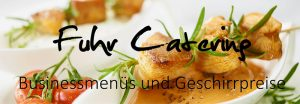 Fuhr Catering - Business-Menüs