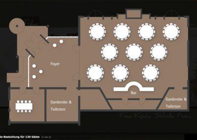 Grundriss Eventhaus Fuhr